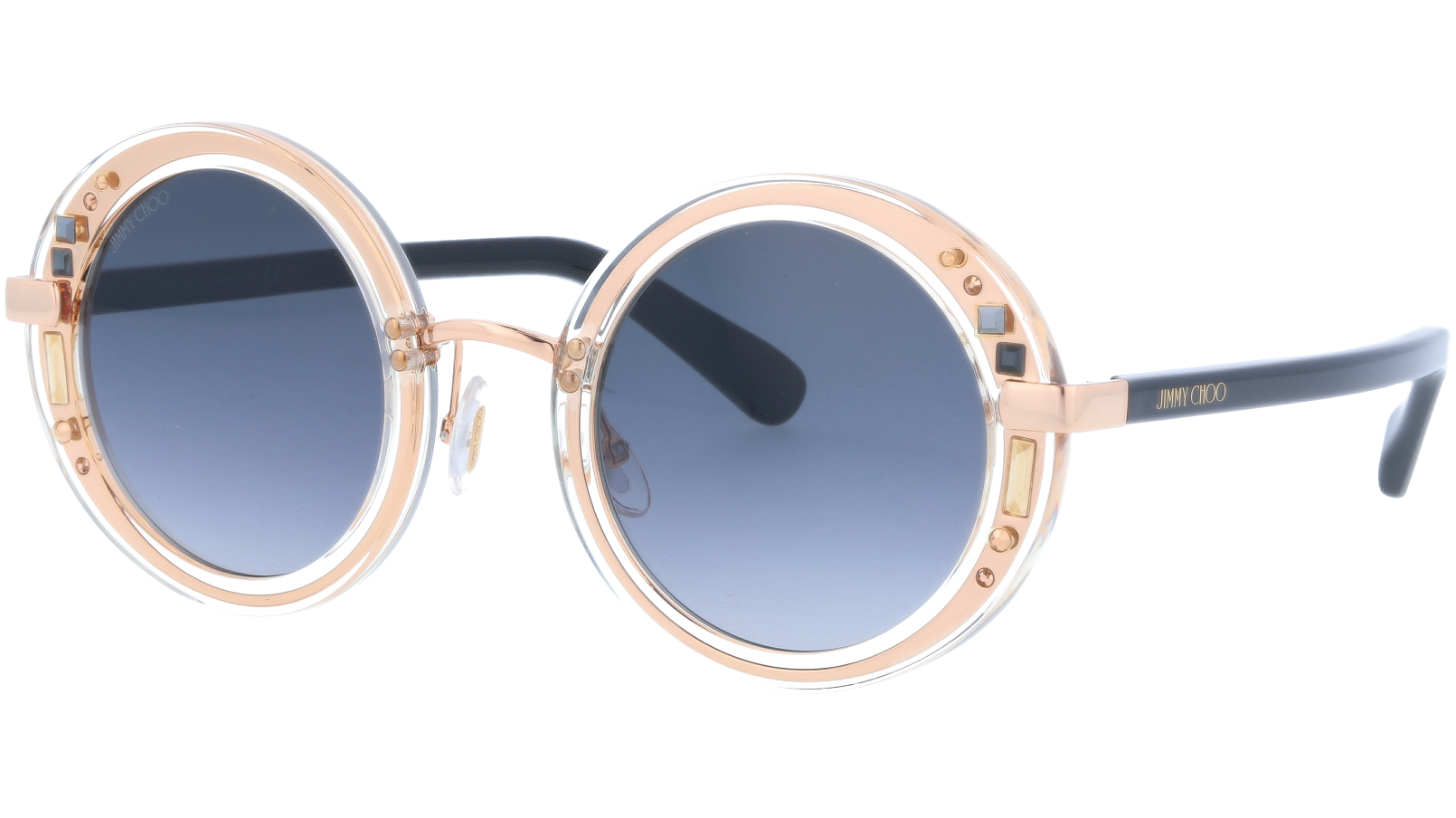 JIMMY CHOO GEMS 1FN90 48 CRYSTAL Sunglasses