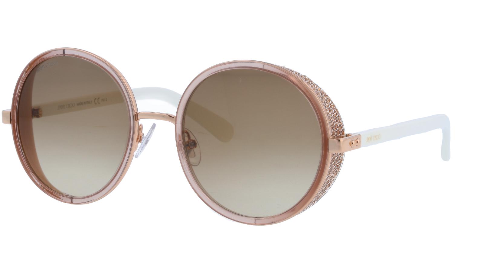 JIMMY CHOO ANDIENS 1KHCC 54 GOLD Sunglasses
