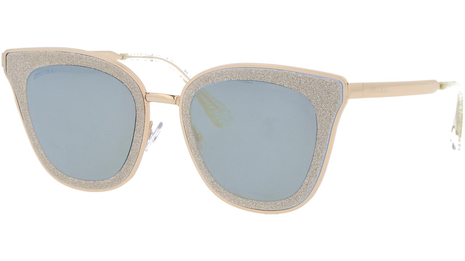 JIMMY CHOO LIZZYS YK9JL 63 BURG Sunglasses