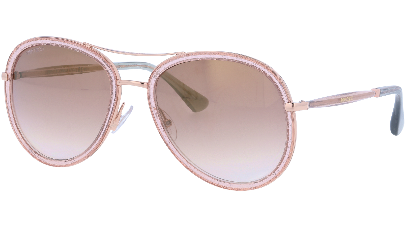 Jimmy Choo TORAS QBQNH 57 Pink Sunglasses