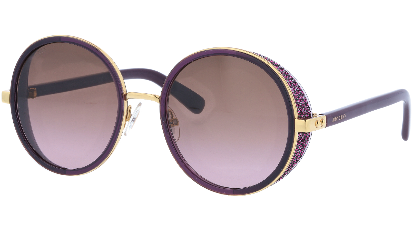 JIMMY CHOO ANDIENS 1KJV6 54 GOLD Sunglasses