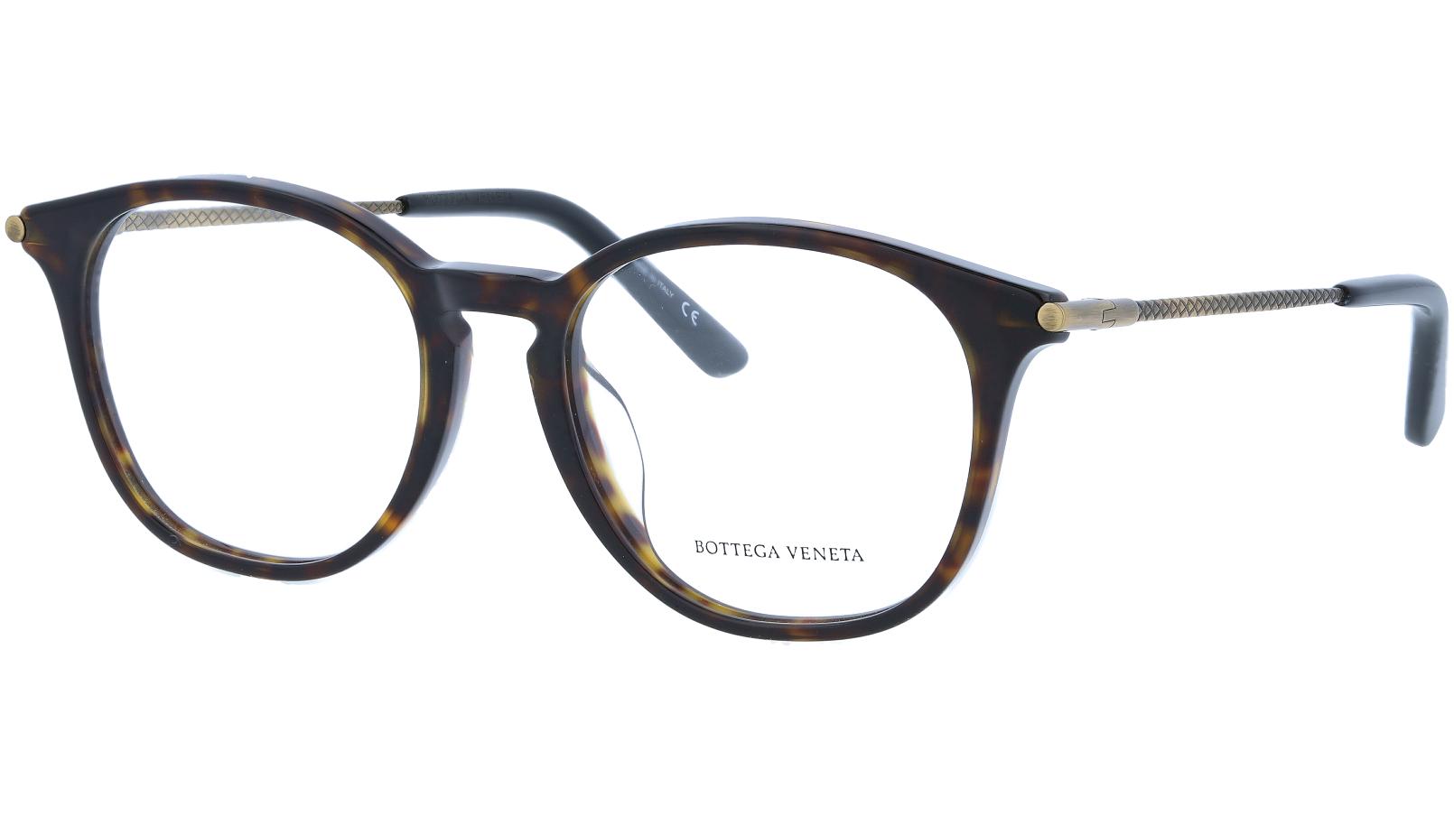 BOTTEGA VENETA BV0200OA 002 53 HAVANA Glasses