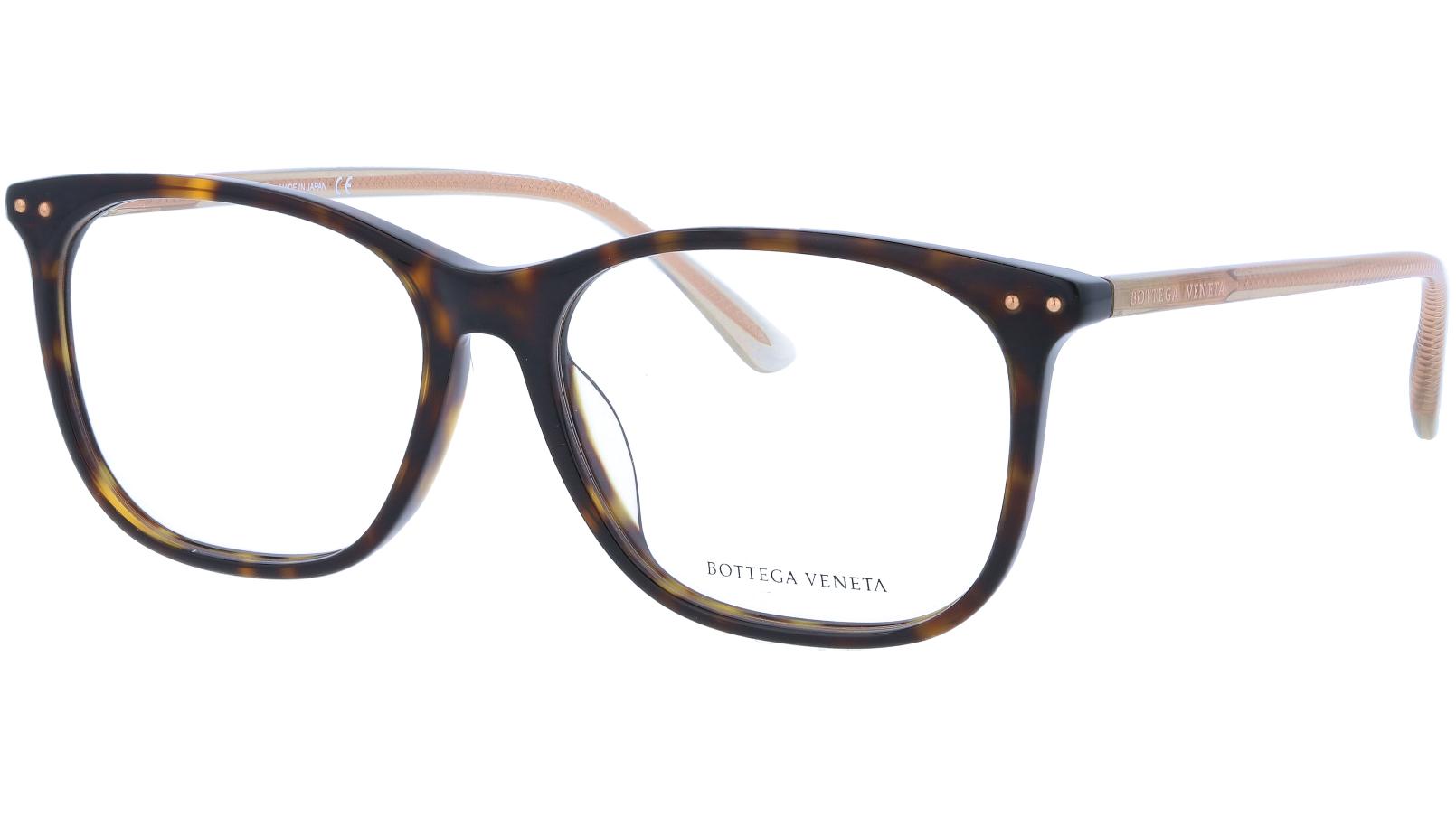 BOTTEGA VENETA BV0193OA 002 56 HAVANA Glasses