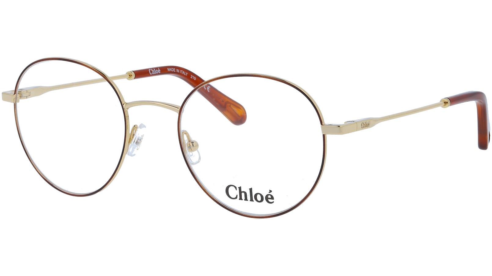 Chloé CE2136 757 50 Gold Glasses
