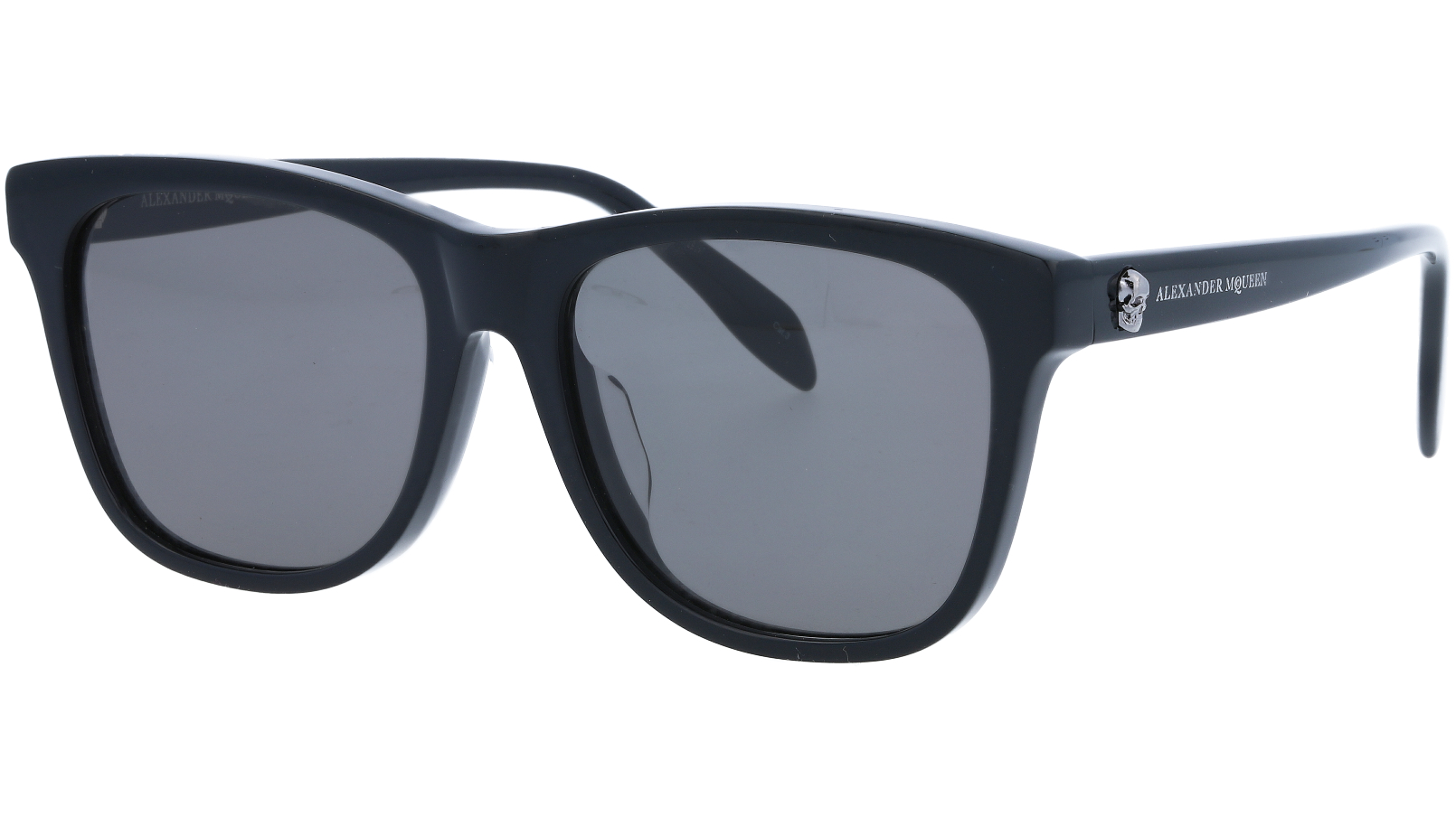 ALEXANDER MCQUEEN AM0158SA 001 56 BLACK Sunglasses