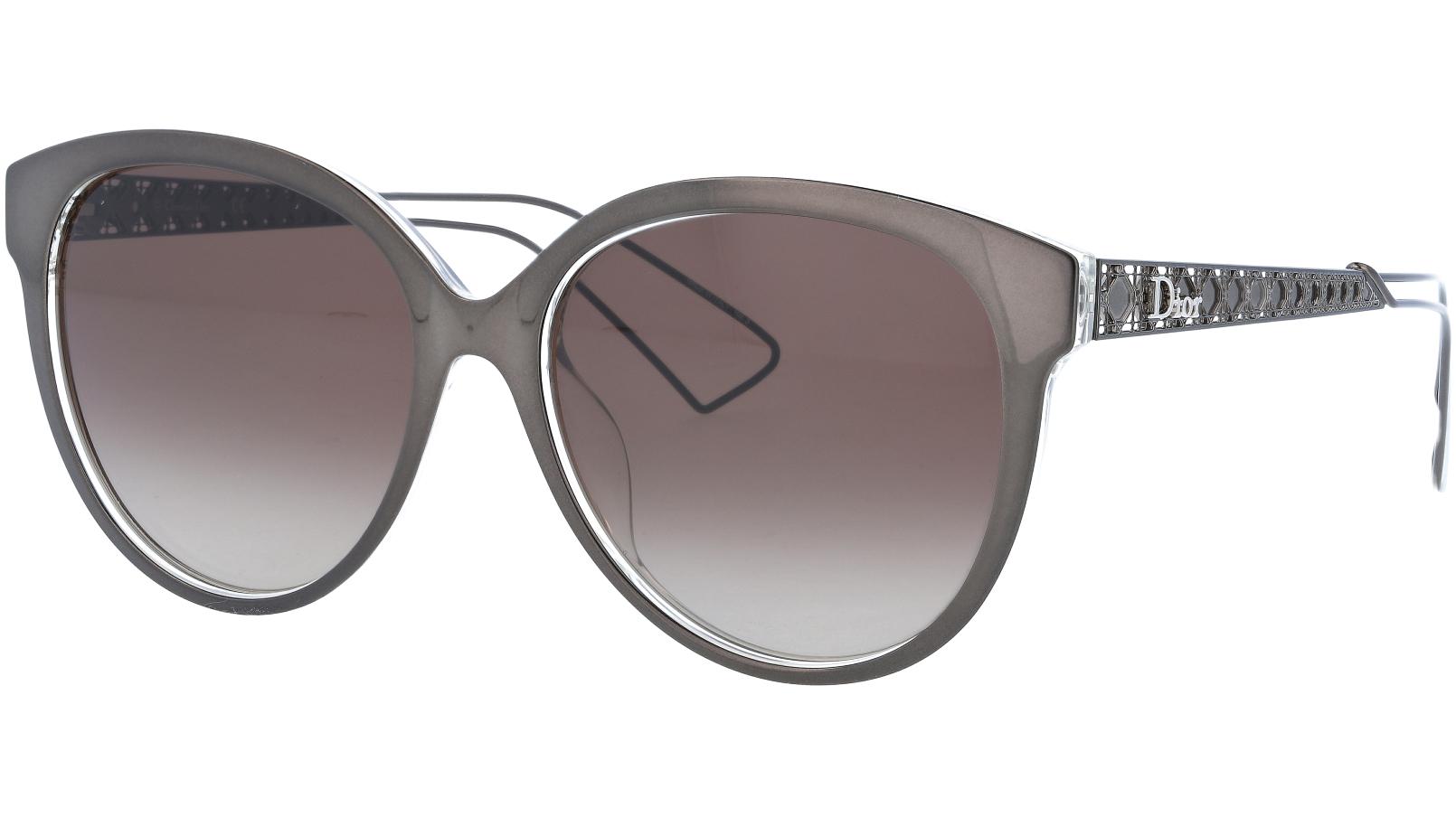 Dior AMA2 TGTHA 56 Grey Sunglasses