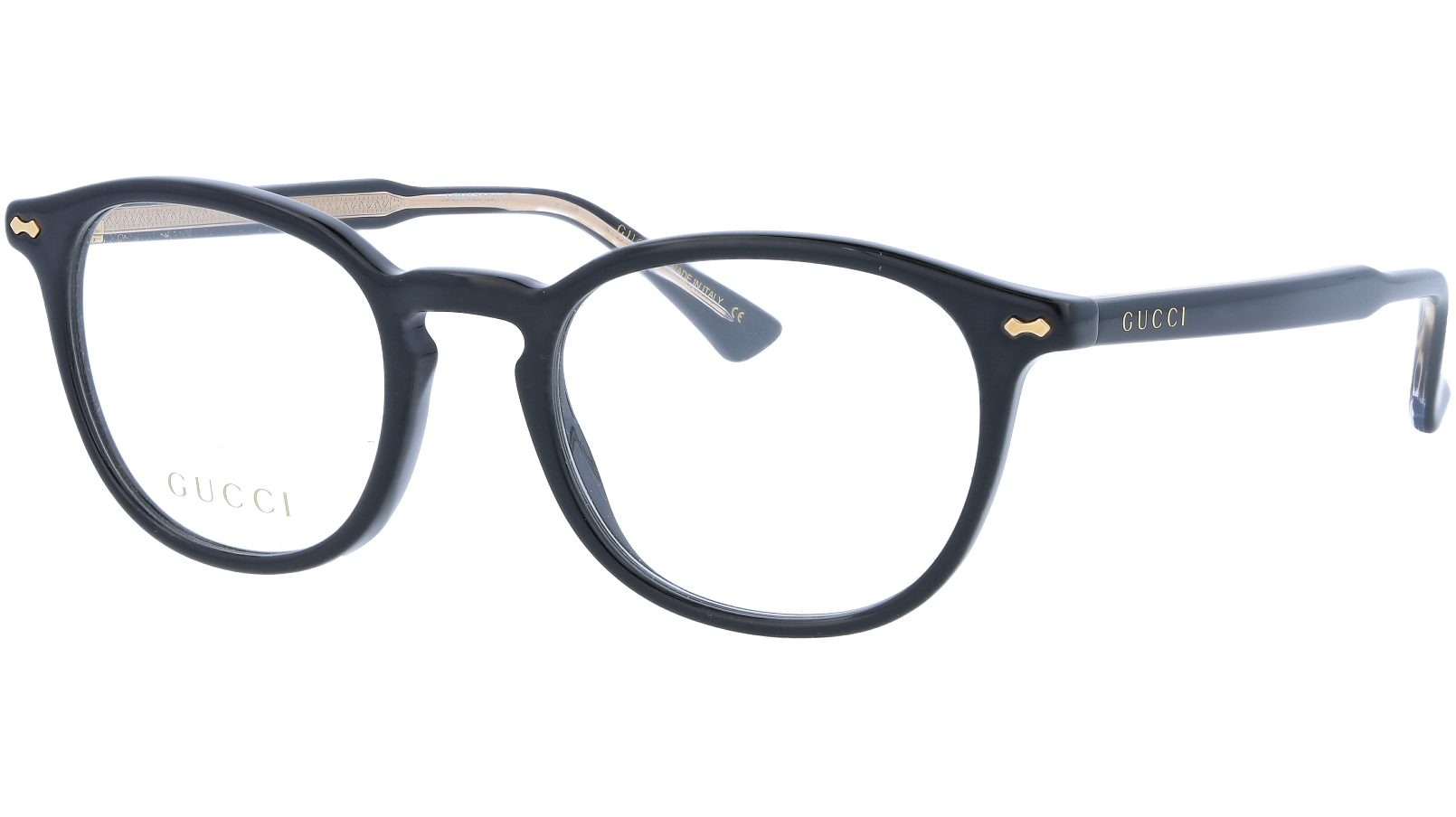 GUCCI GG0187O 005 49 BLACK Glasses