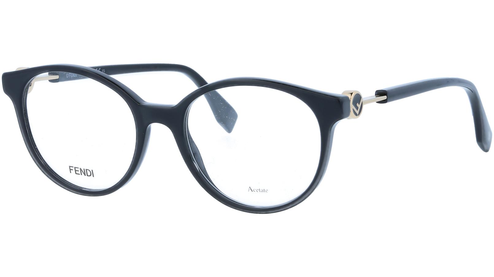 FENDI FF0348 807 50 BLACK Glasses