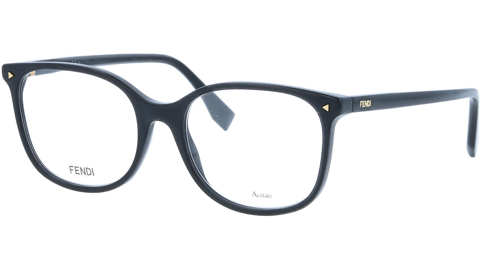 FENDI FF0387 807 53 BLACK Glasses