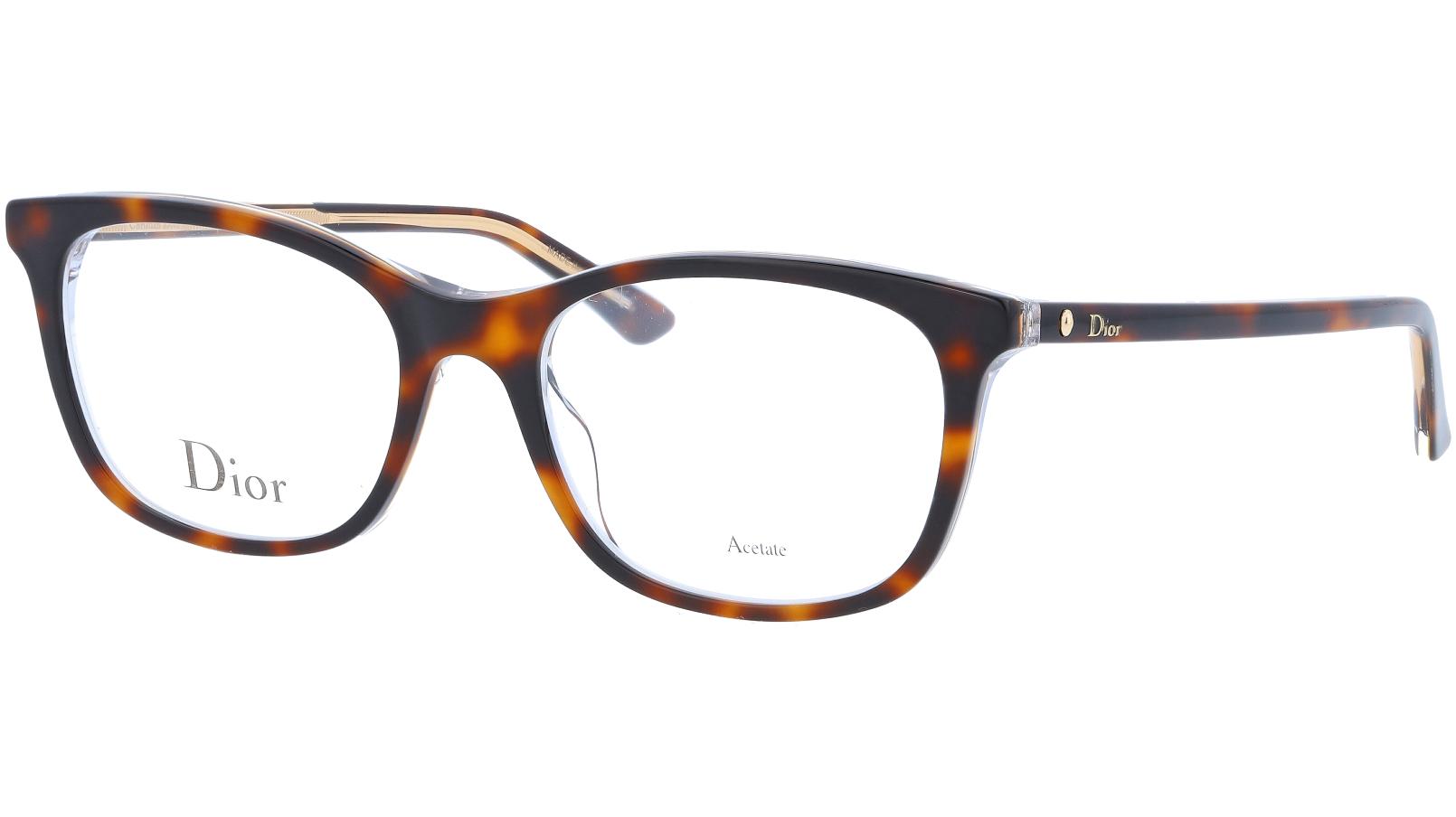 Dior MONTAIGNE18 G9Q 52 Havana Glasses