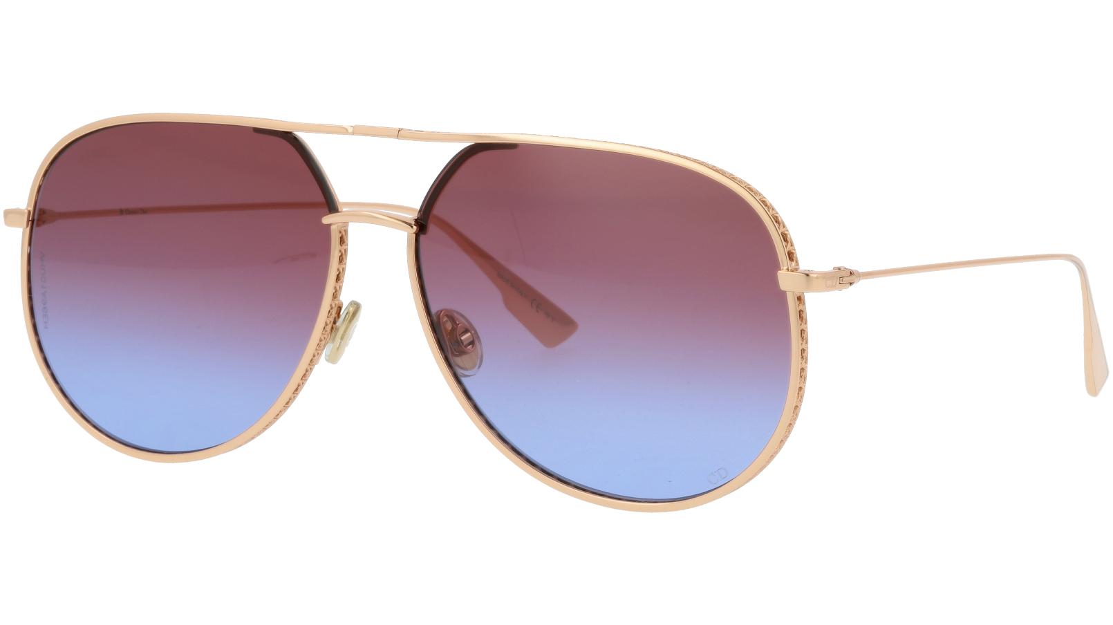 Dior BYDior DDBSQ 60 Gold Sunglasses