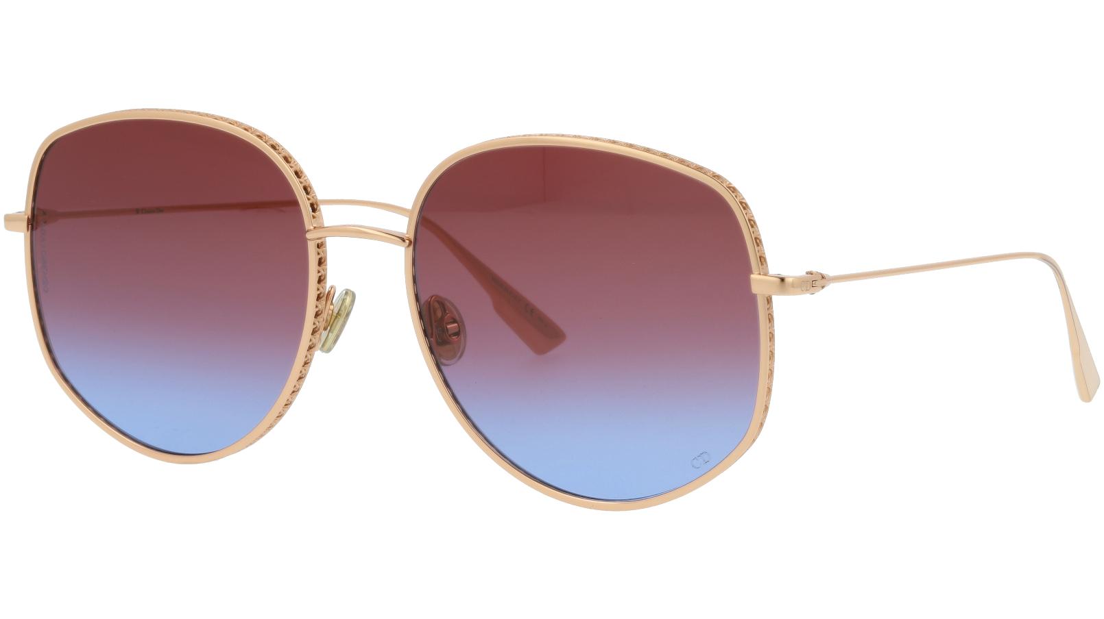 Dior BYDior2 DDBYB 58 Gold Sunglasses