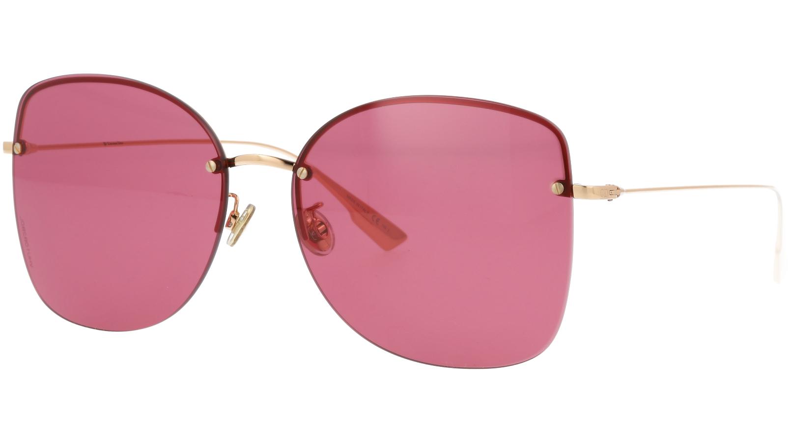Dior Stellaire7F DDBU1 62 Gold Sunglasses