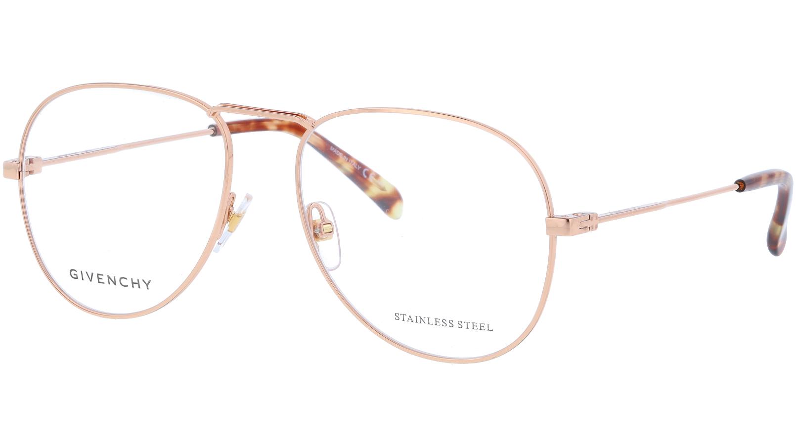 Givenchy GV0117 DDB 55 Gold Glasses