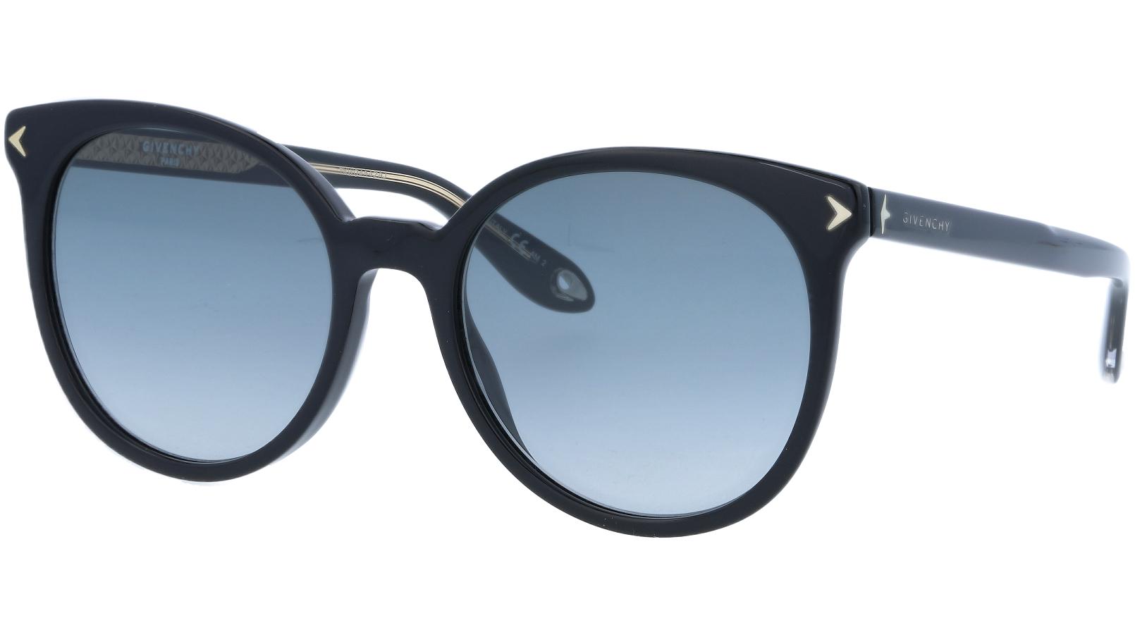Givenchy GV7077S 80790 54 Black Sunglasses