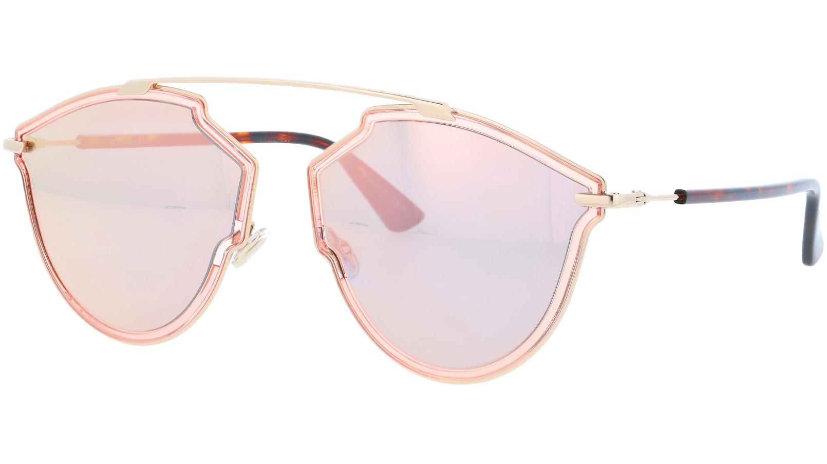 Dior SoRealRise S450J 58 Pink Sunglasses
