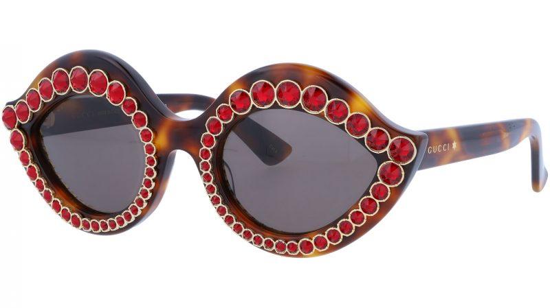 GUCCI GG0045S 002 53 AVANA Sunglasses