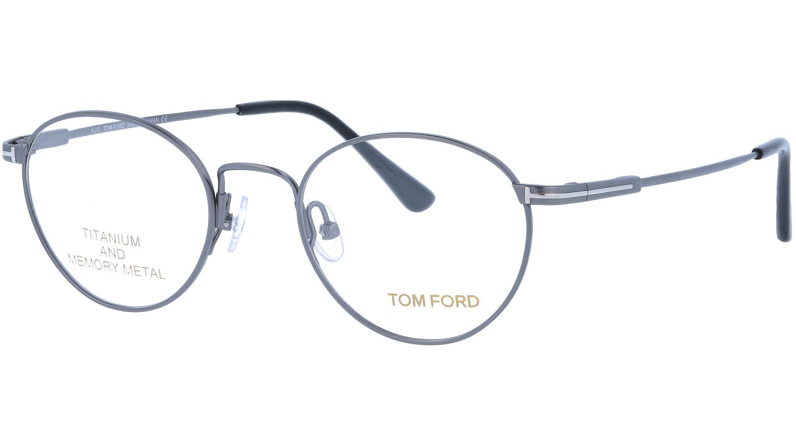 TOM FORD FT5418 009 47 SILVER Glasses