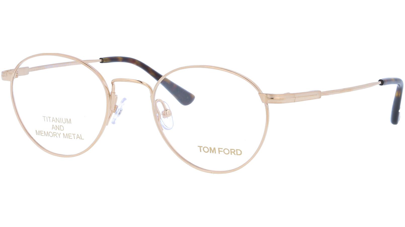 TOM FORD FT5418 029 49 GOLD Glasses