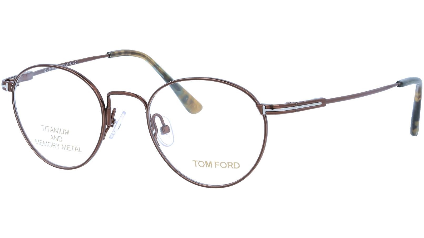 TOM FORD FT5418 048 47 BROWN Glasses
