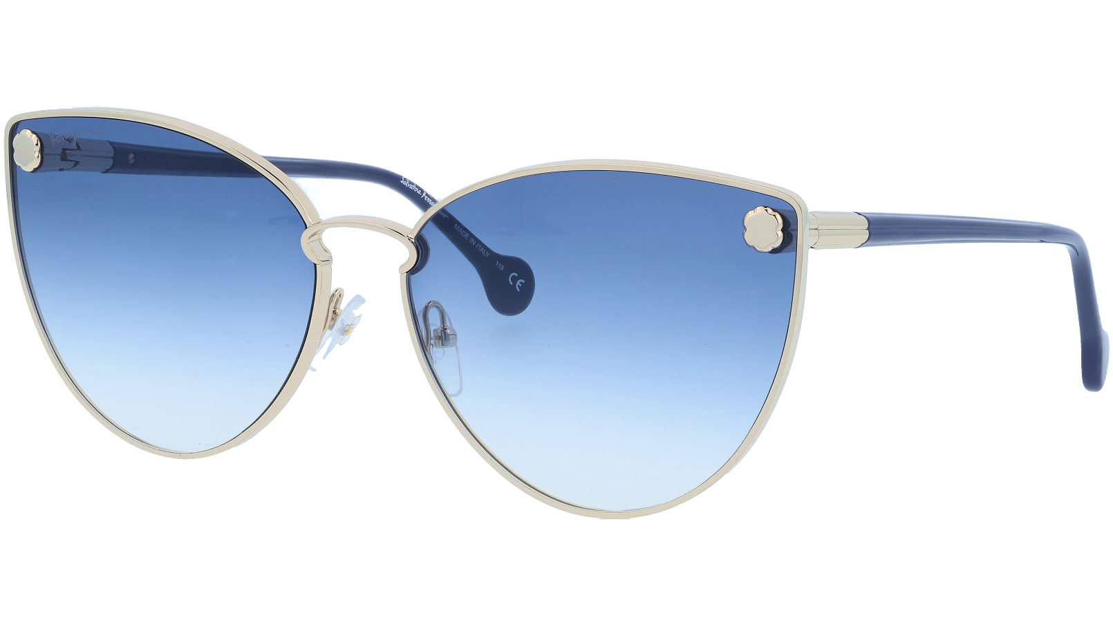 SALVATORE FERRAGAMO SF185S 709 64 GOLD Sunglasses