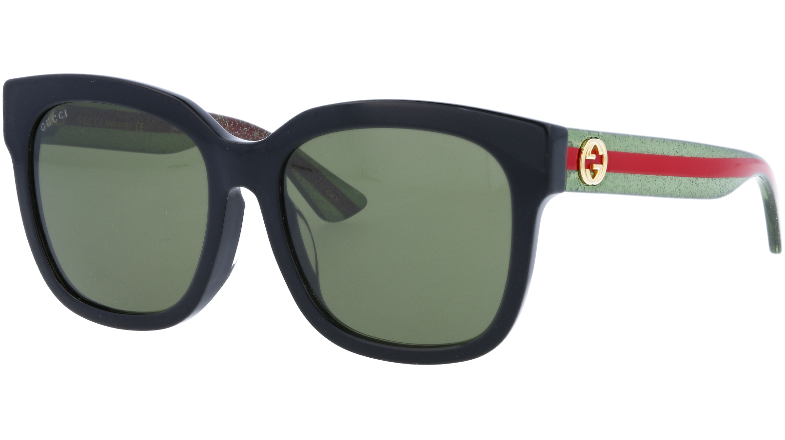 GUCCI GG0034SA 002 55 BLACK Sunglasses