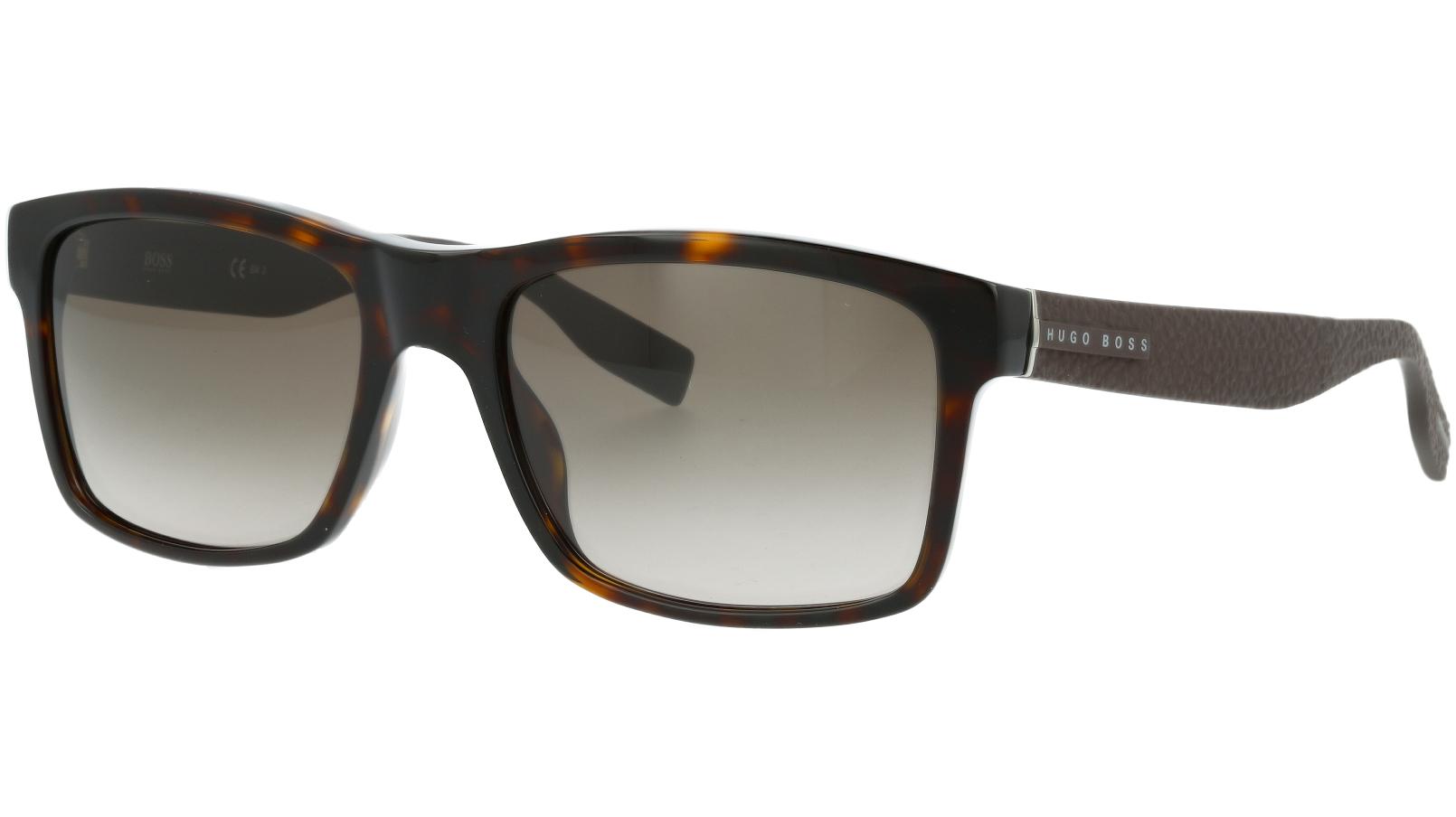 Hugo Boss BOSS0509/N/S 086HA 55 Dark Sunglasses