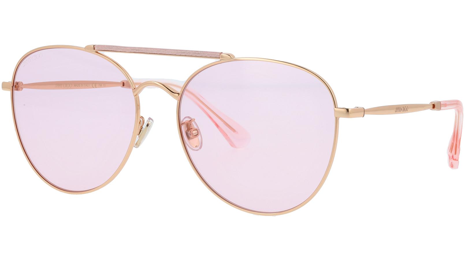 JIMMY CHOO ABBIE/G/S W66Q4 61 PINK Sunglasses