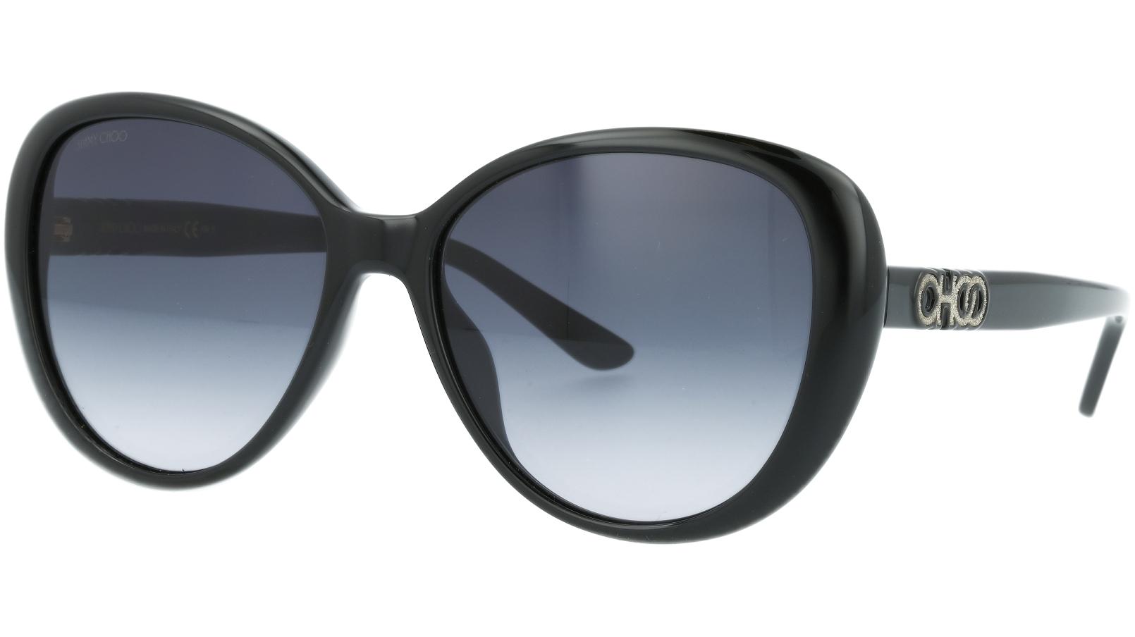 JIMMY CHOO AMIRA/G/S 80790 57 BLACK Sunglasses