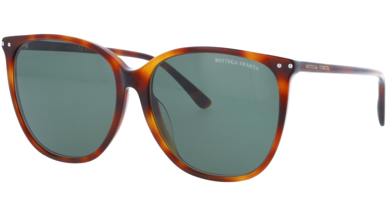 BOTTEGA VENETA BV0160SA 002 58 HAVANA Sunglasses