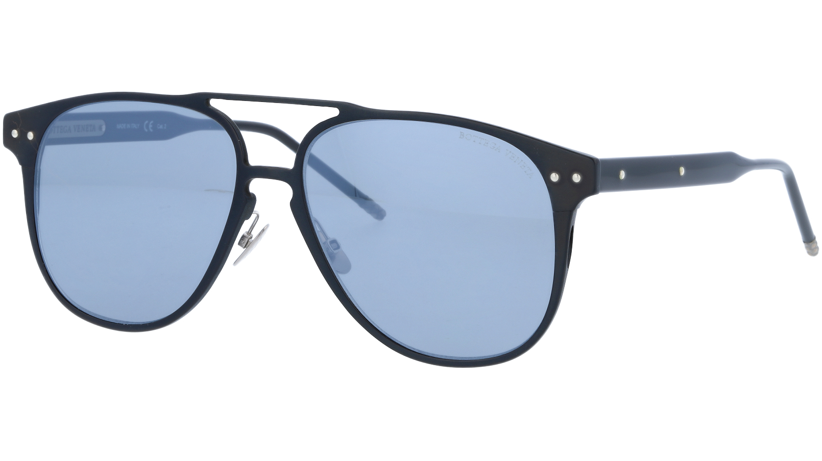 Bottega Veneta BV0212S 001 57 Black Sunglasses