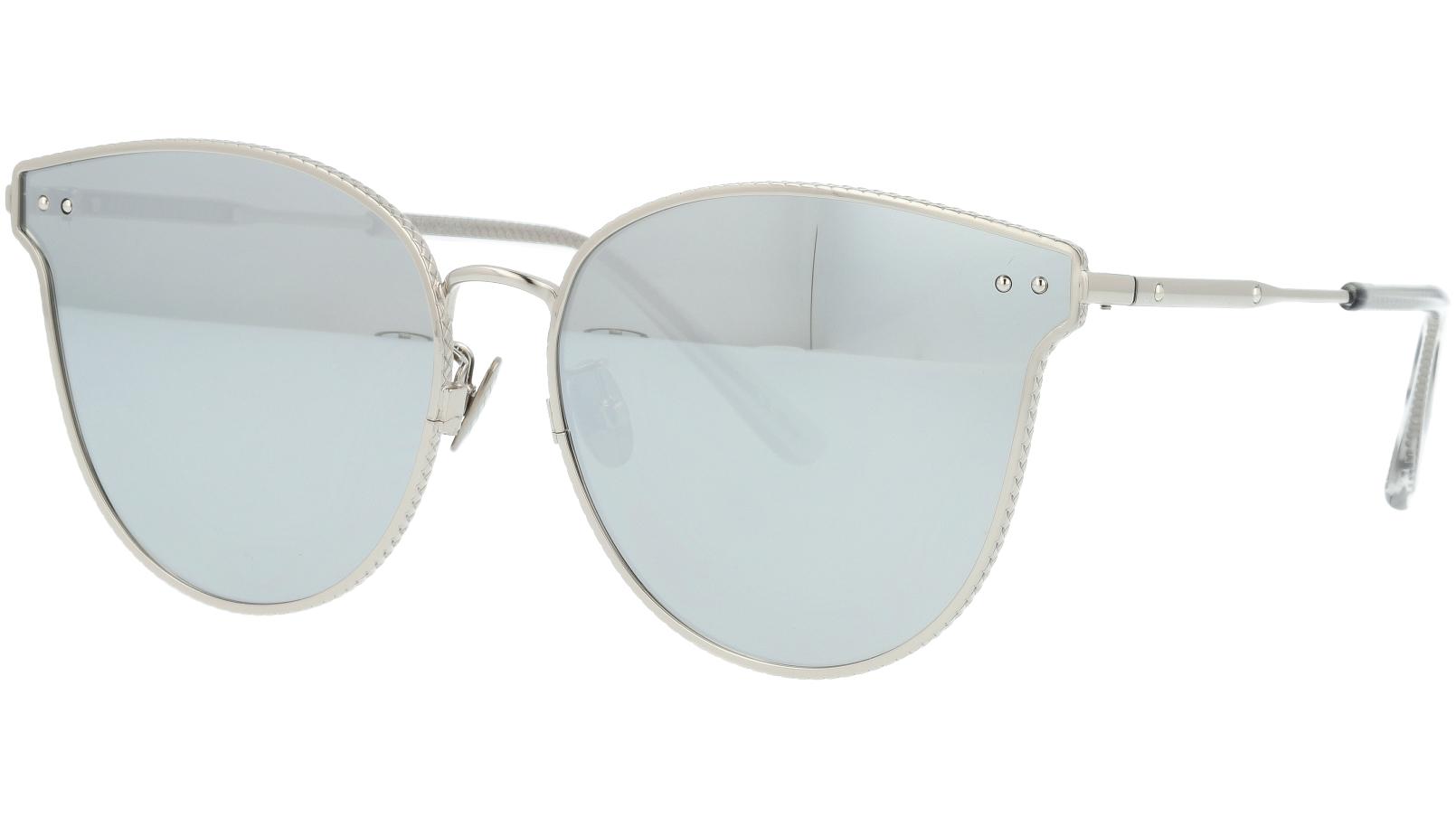 BOTTEGA VENETA BV0157SK 002 63 SILVER Sunglasses