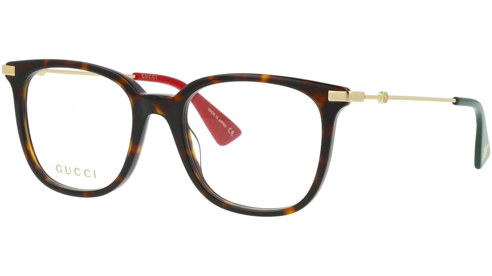 GUCCI GG0110O 007 51 HAVANA Glasses