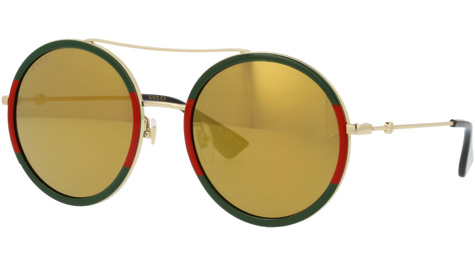 GUCCI GG0061S 012 56 GOLD Sunglasses