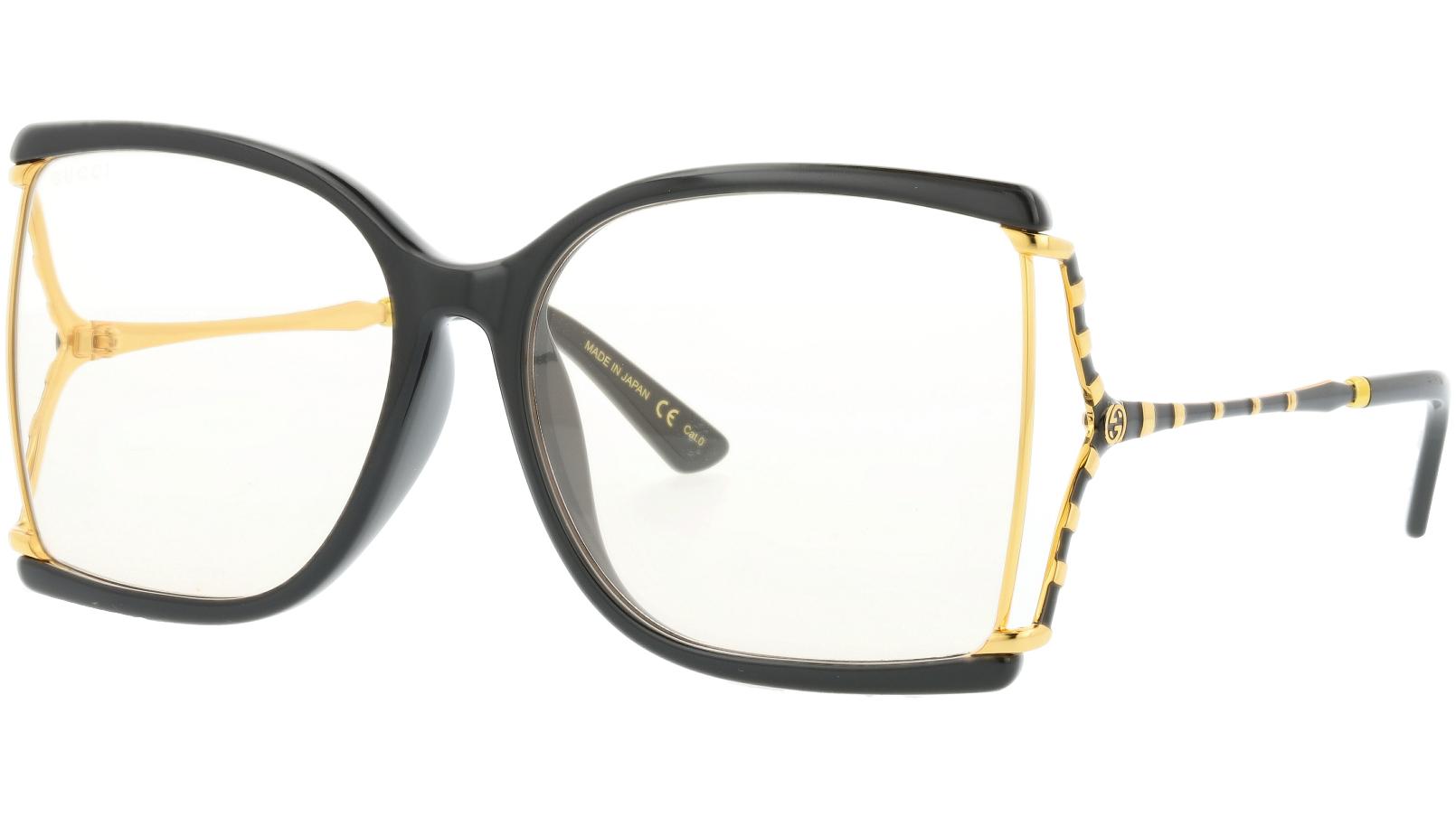 GUCCI GG0592SK 002 61 BLACK Sunglasses
