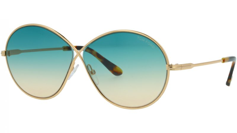 TOM FORD FT0564 28P 64 GOLD Sunglasses