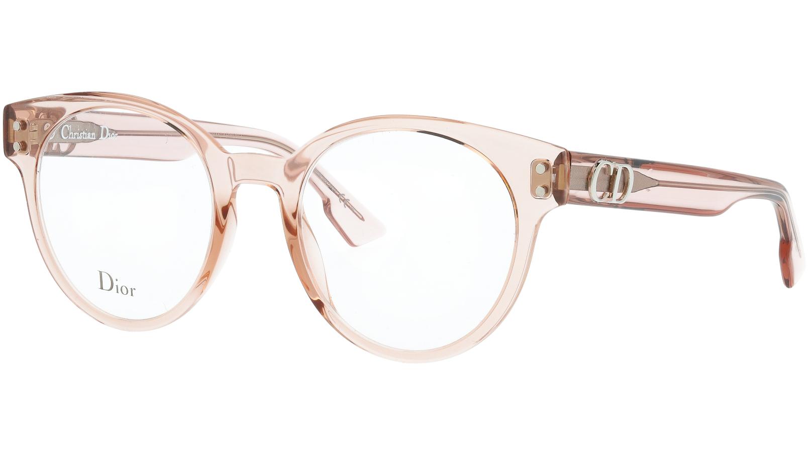 Dior CD3 FWM 49 Nude Glasses