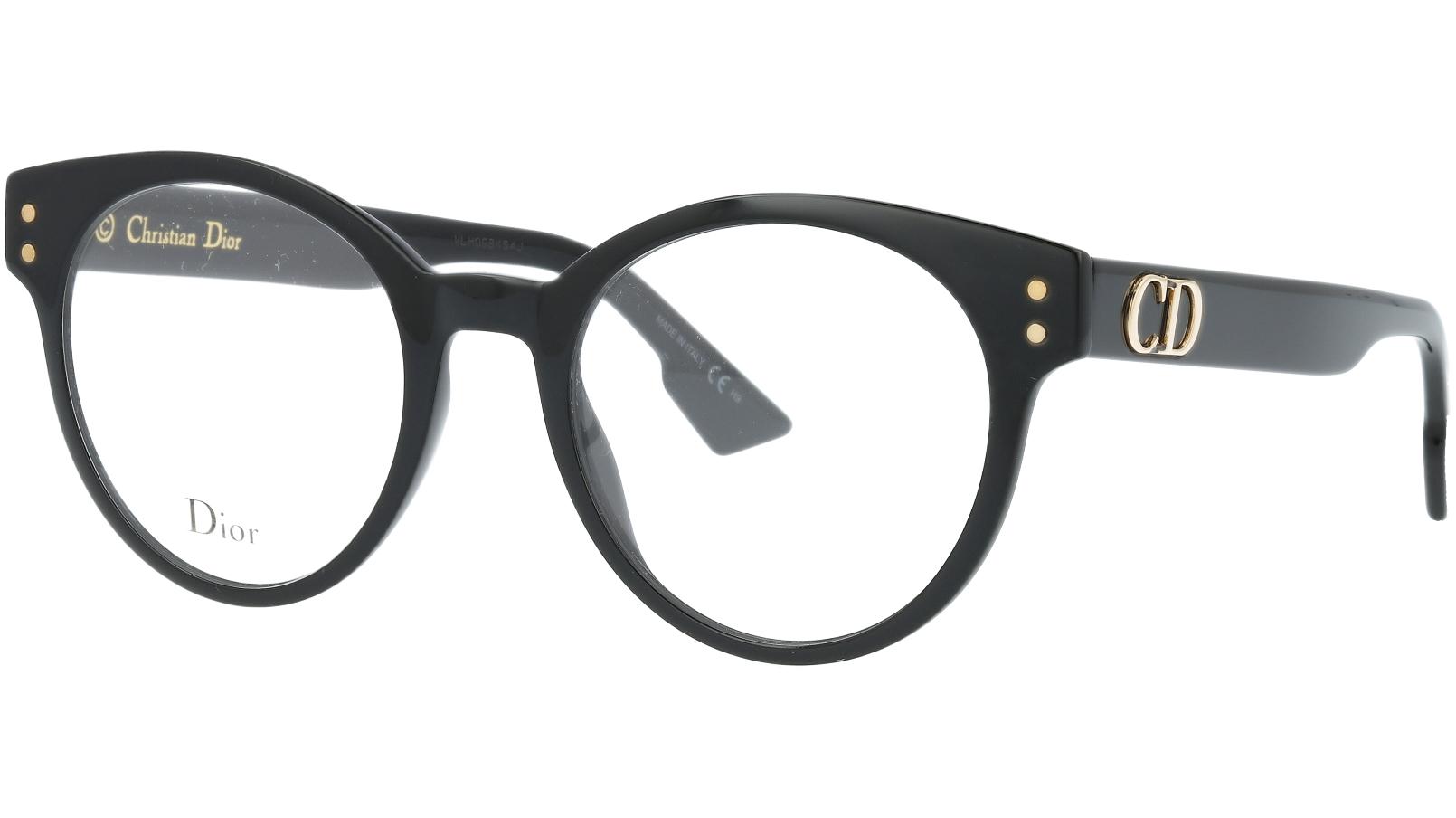 Dior CD3 807 49 Black Glasses