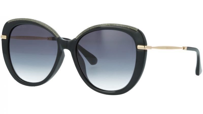 JIMMY CHOO PHEBE FS AE290 56 BLACK Sunglasses