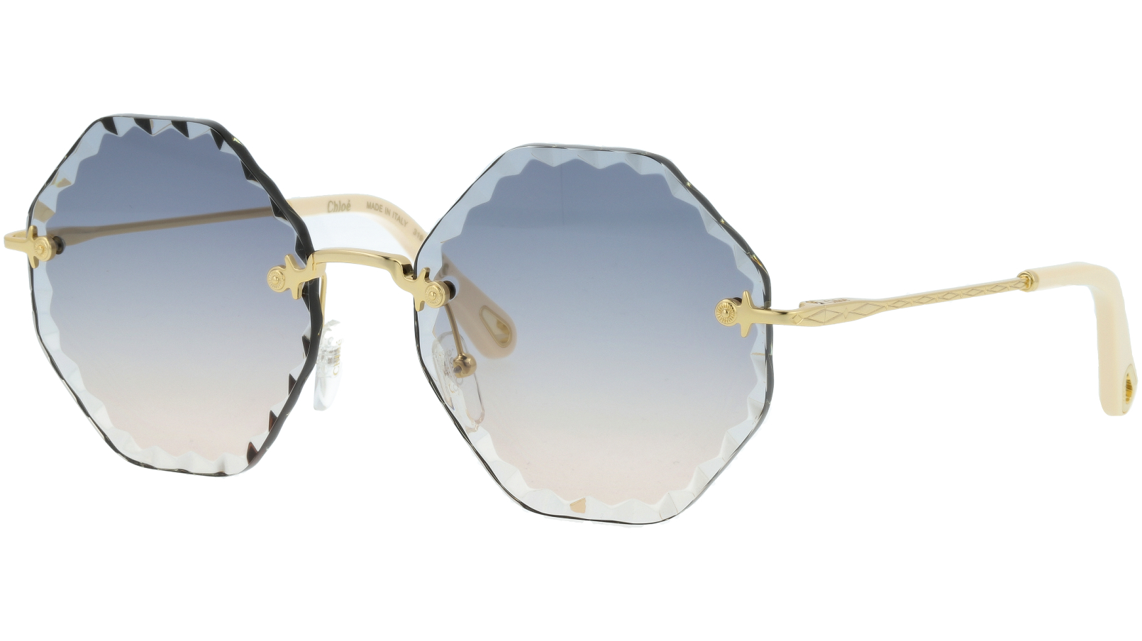 CHLOE Rosie CE143S 836 58 Gold Green Sunglasses