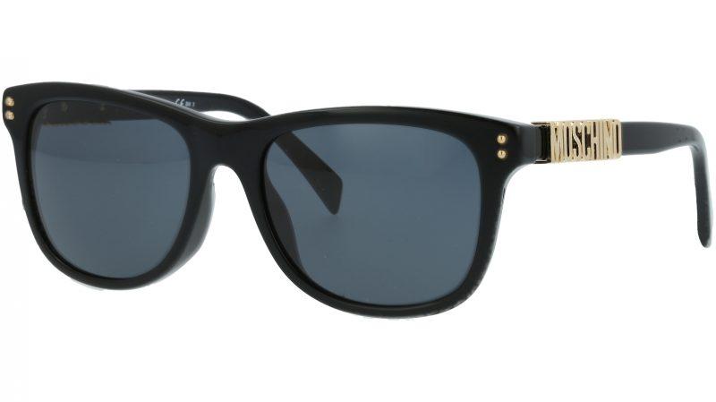 MOSCHINO MOS003S 807IR 53 BLACK Sunglasses