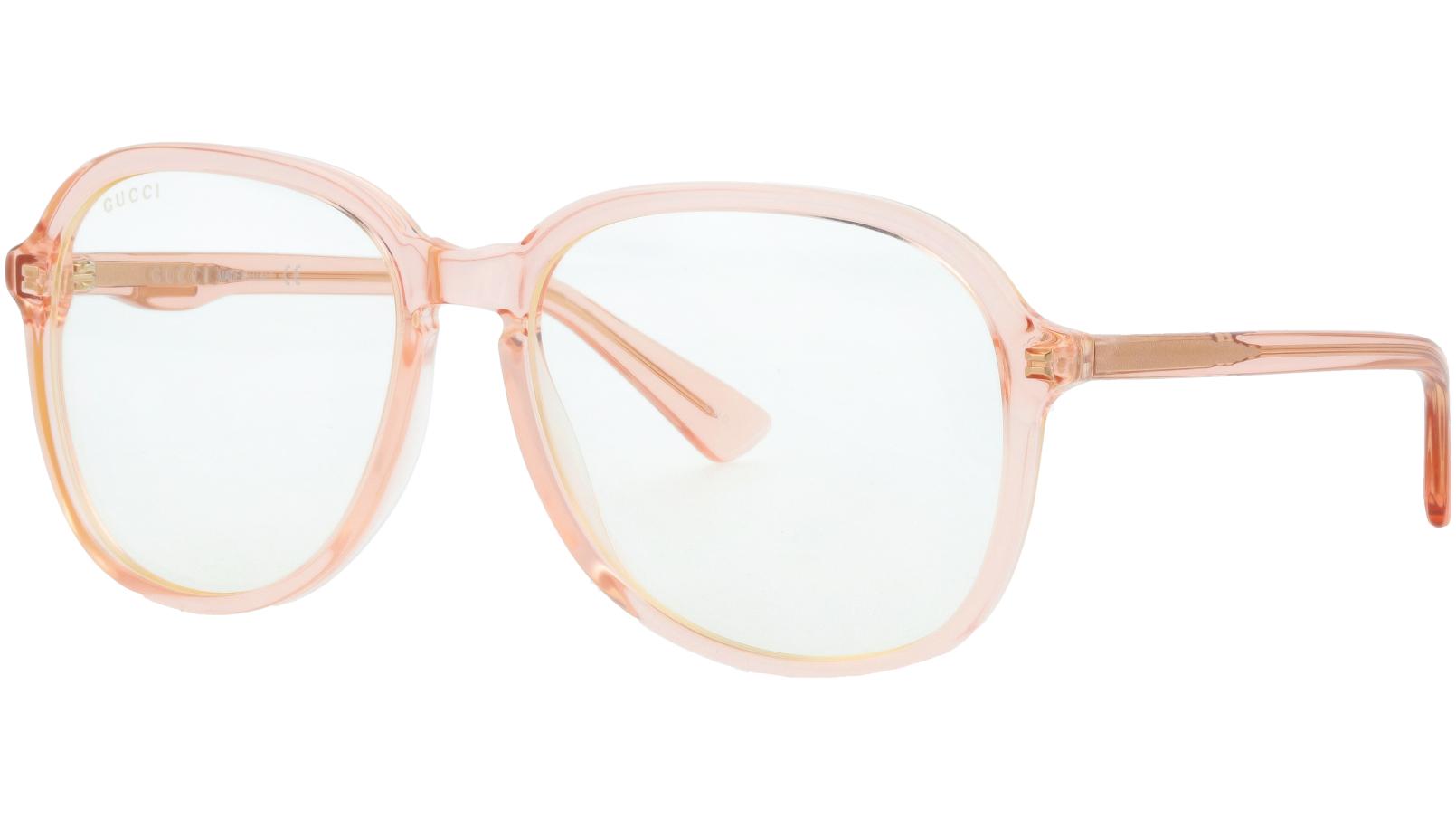 GUCCI GG0259S 002 55 ORANGE Sunglasses