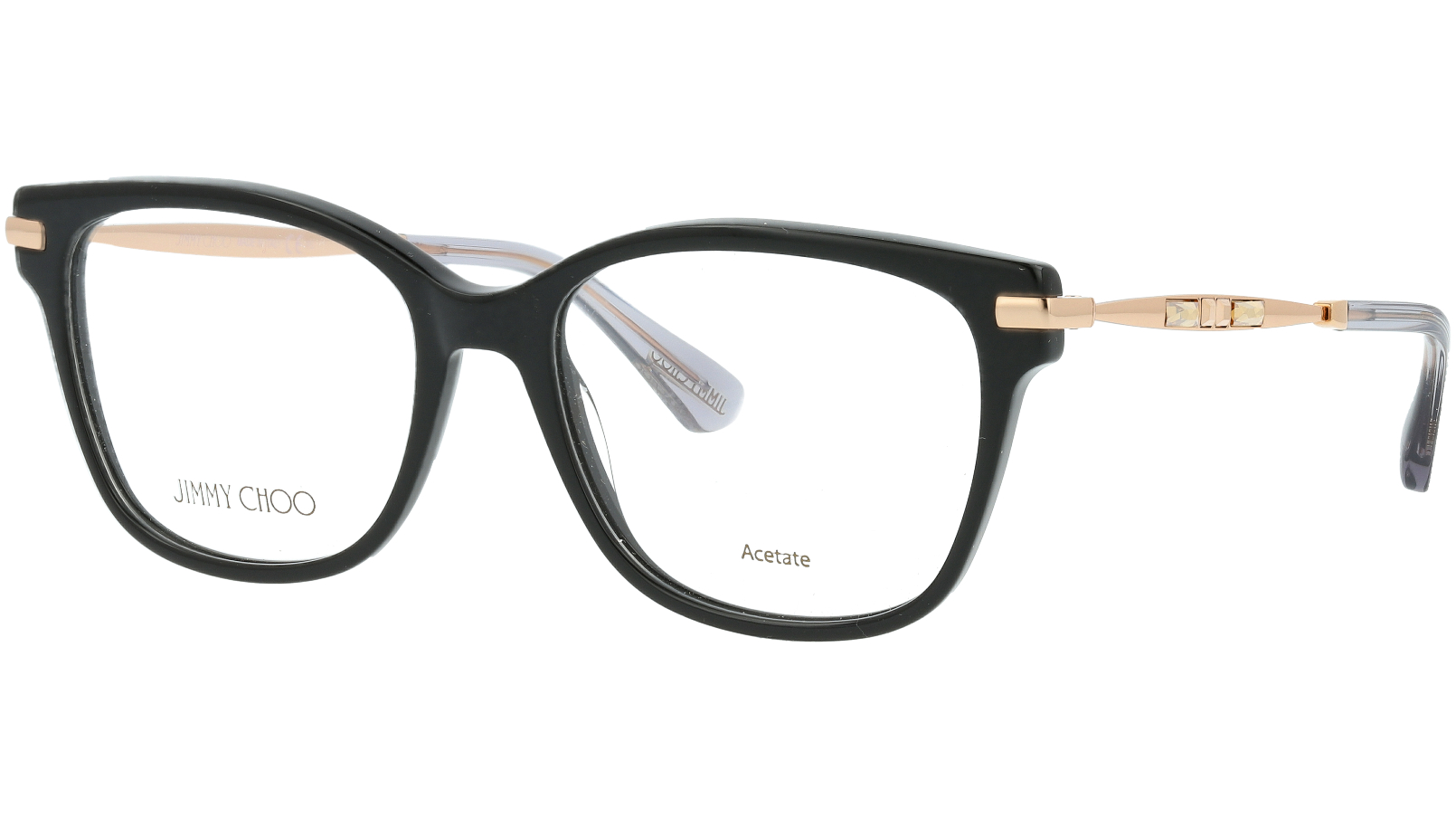 JIMMY CHOO JC181 06K 51 BLACK Glasses