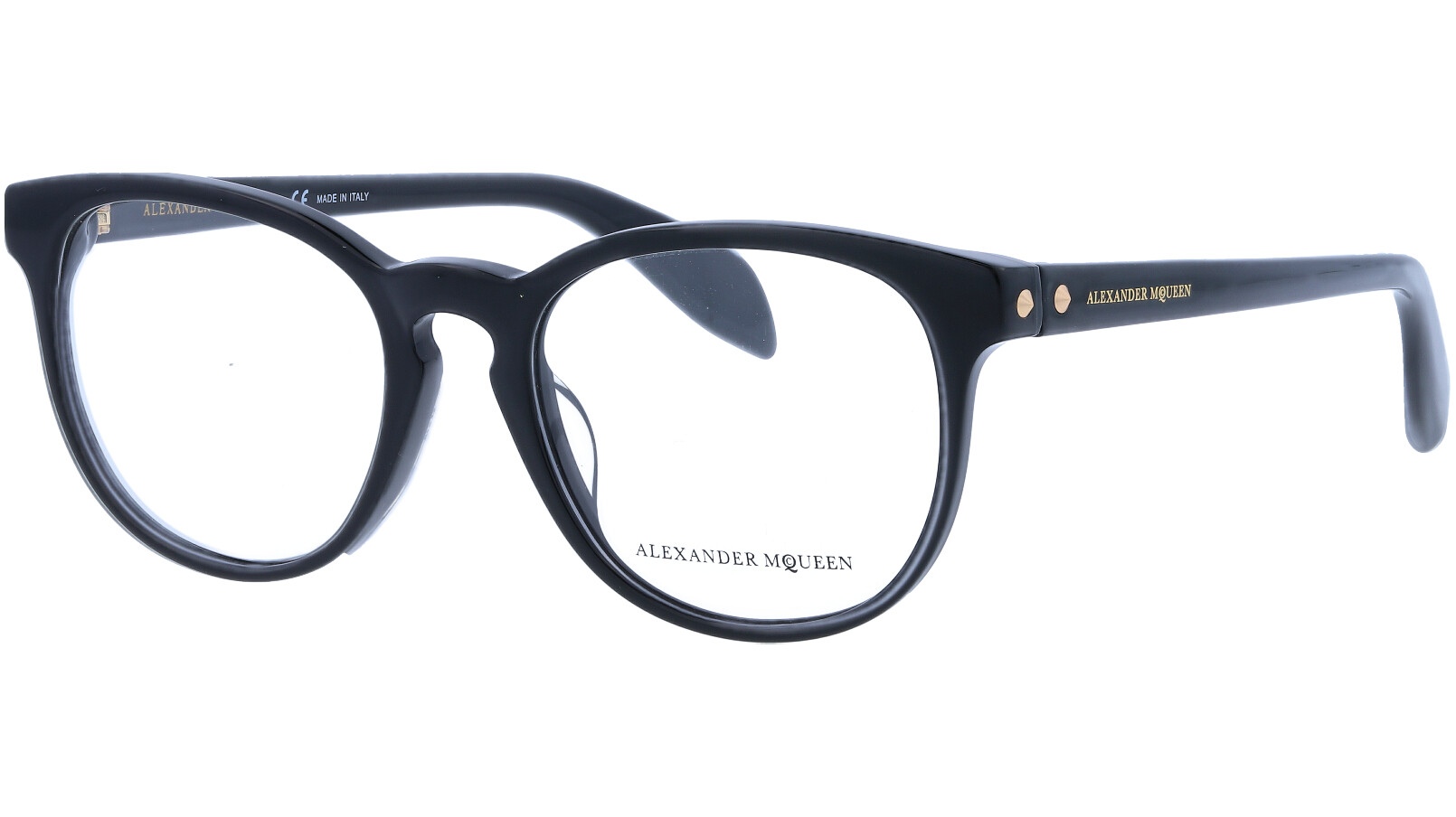 ALEXANDER MCQUEEN AM0100O 001 51 BLACK Glasses