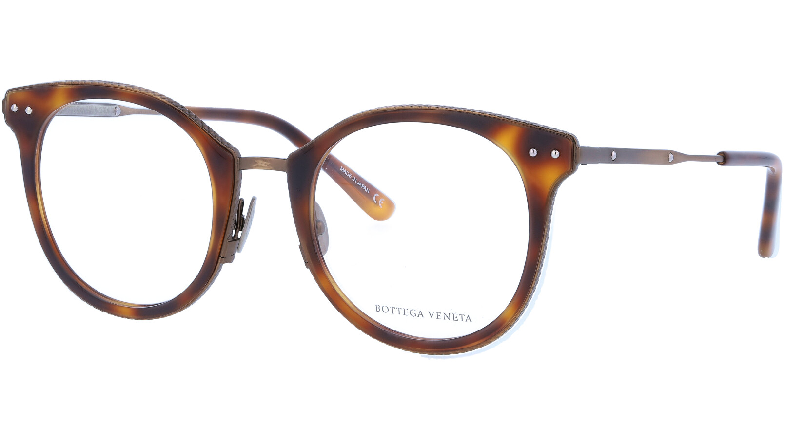 BOTTEGA VENETA BV0066O 002 50 AVANA Glasses