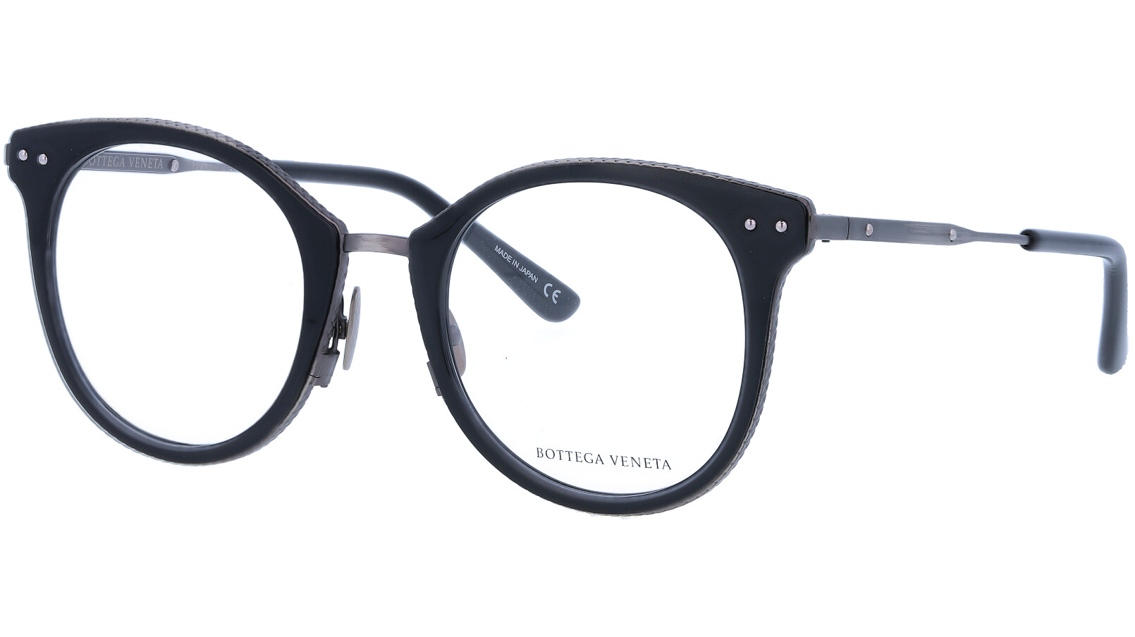 BOTTEGA VENETA BV0066O 001 50 BLACK Glasses