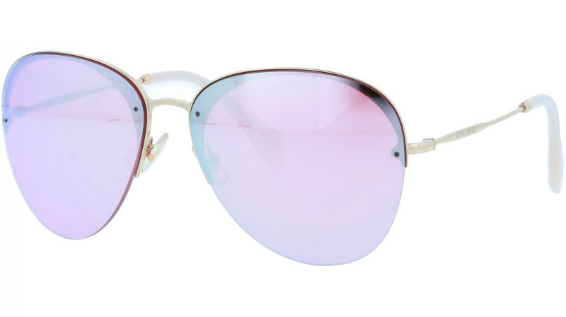 MIU MIU MU53PS ZVN4L2 60 GOLD Sunglasses