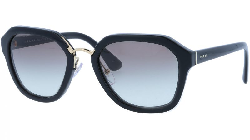 PRADA PR25RS 1AB0A7 55 BLACK Sunglasses