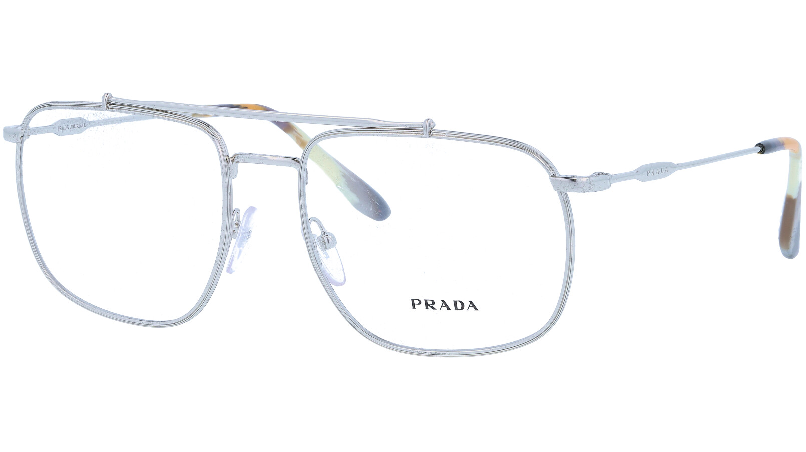 PRADA PR56UV 1BC1O1 55 SILVER Glasses
