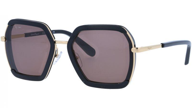SALVATORE FERRAGAMO SF901S 001 57 BLACK Sunglasses